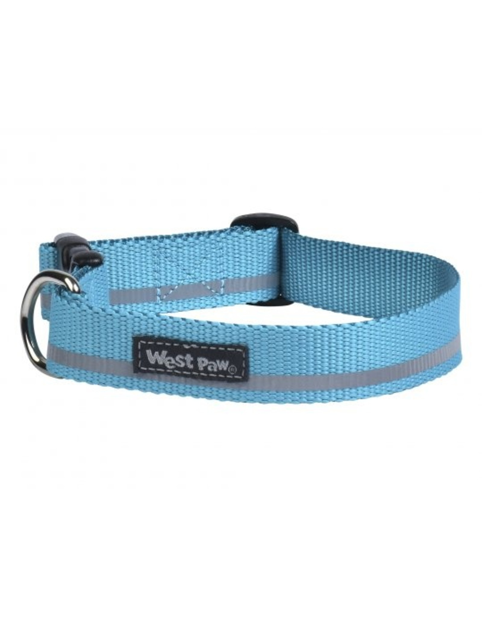 West Paw Designs Westpaw: Strolls Collar Large Turquoise Reflective