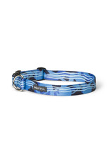 West Paw Designs Westpaw: Outings™ Collar Small Blue Groove