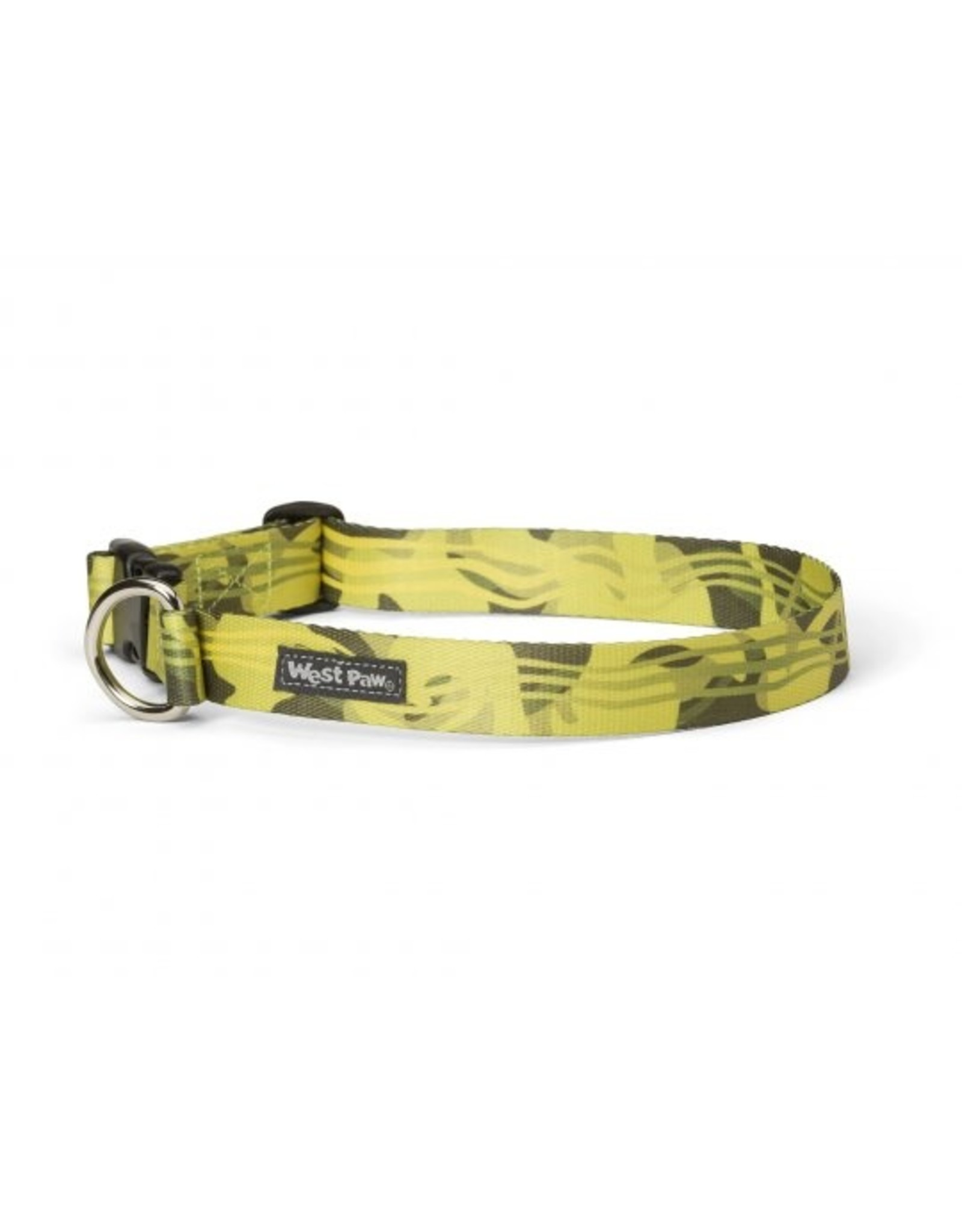 West Paw Designs Westpaw: Outings™ Collar Medium Green Groove