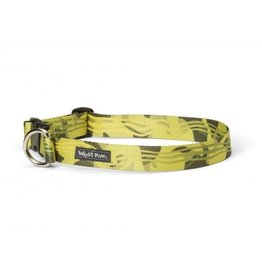 West Paw Designs Westpaw: Outings™ Collar Large Green Groove
