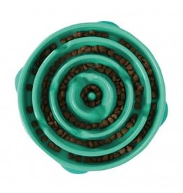 Outward Hound Outward Hound: Bowl FunFeed Teal