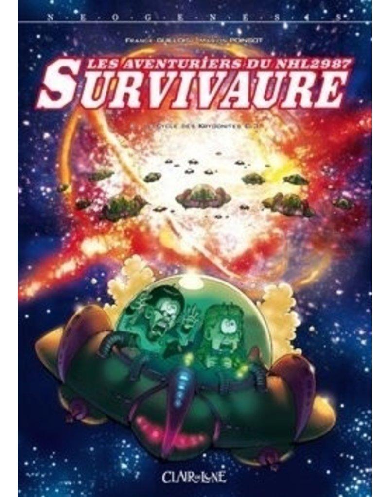 Les Aventuriers du Survivaure Les aventuriers du NHL2987 Survivaure - Cycle des Krygonites - Tome 3