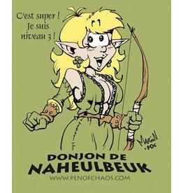 Donjon de Naheulbeuk V-Neck T-Shirt Elfe