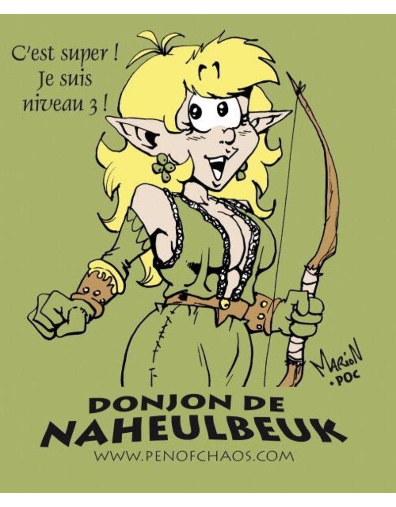 Donjon de Naheulbeuk Donjon de Naheulbeuk : T-Shirt à col en V - Elfe