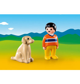 Playmobil 1.2.3 Man with Dog
