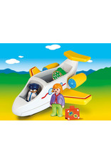 Playmobil 1.2.3 Plane with Passenger