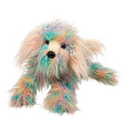 Douglas Toys Jaxton Rainbow Dog Fur Fuzzle