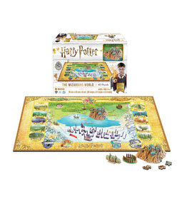 892 pcs. Harry Potter 4D Puzzle of the Wizarding World