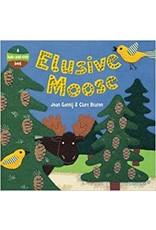 Bare Foot Books Elusive Moose Board Book (BB)