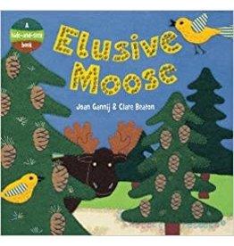 Bare Foot Books Elusive Moose Board Book