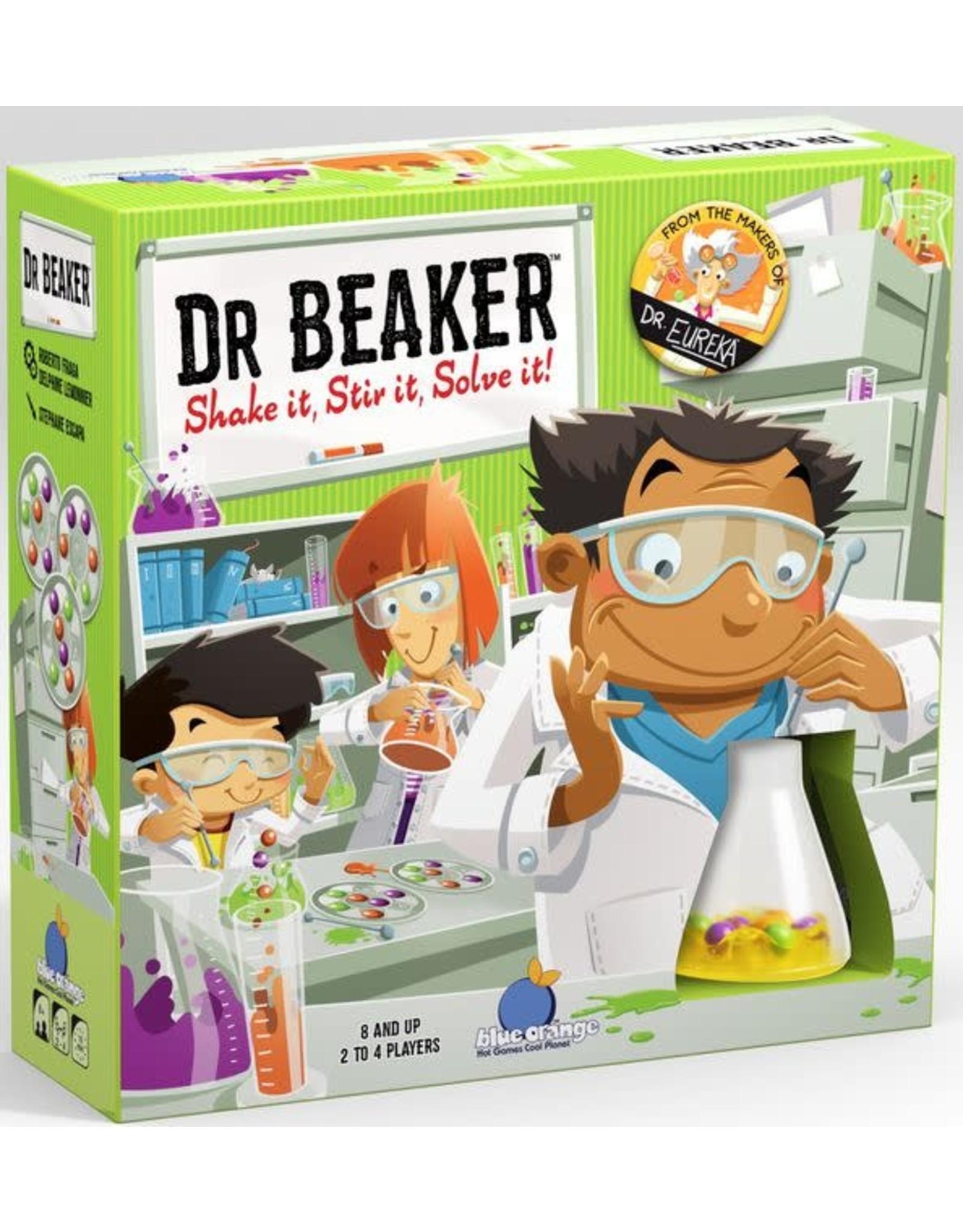 Blue Orange Dr Beaker