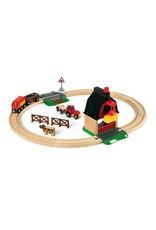 Brio Farm Railway Set