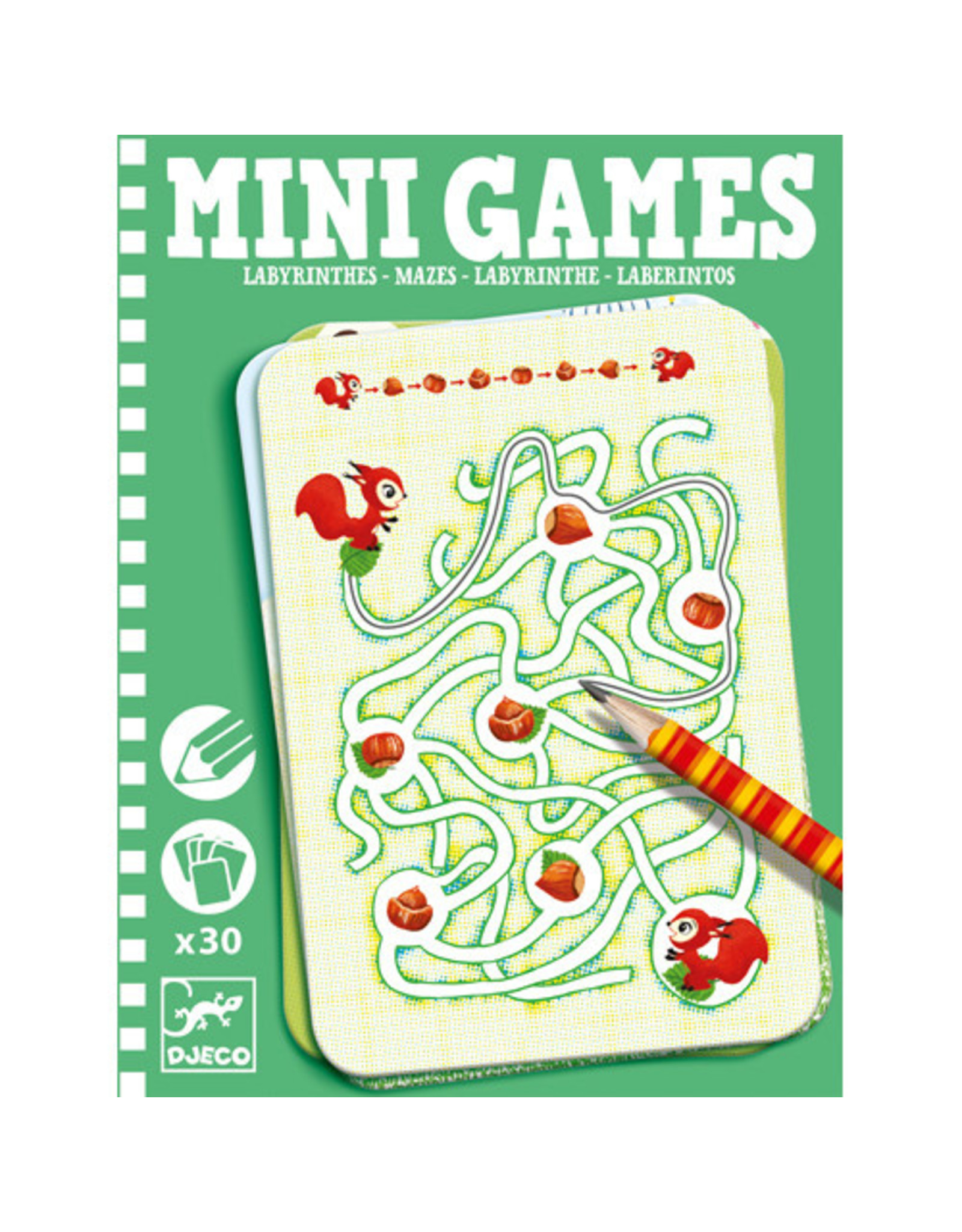 Djeco Mini Games, Mazes By Ariane