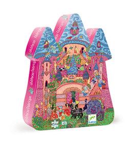 Djeco Silhouette Puzzle, The Fairy Castle