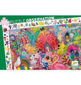 Djeco 200 pcs. Observation Puzzle, Rio Carnival