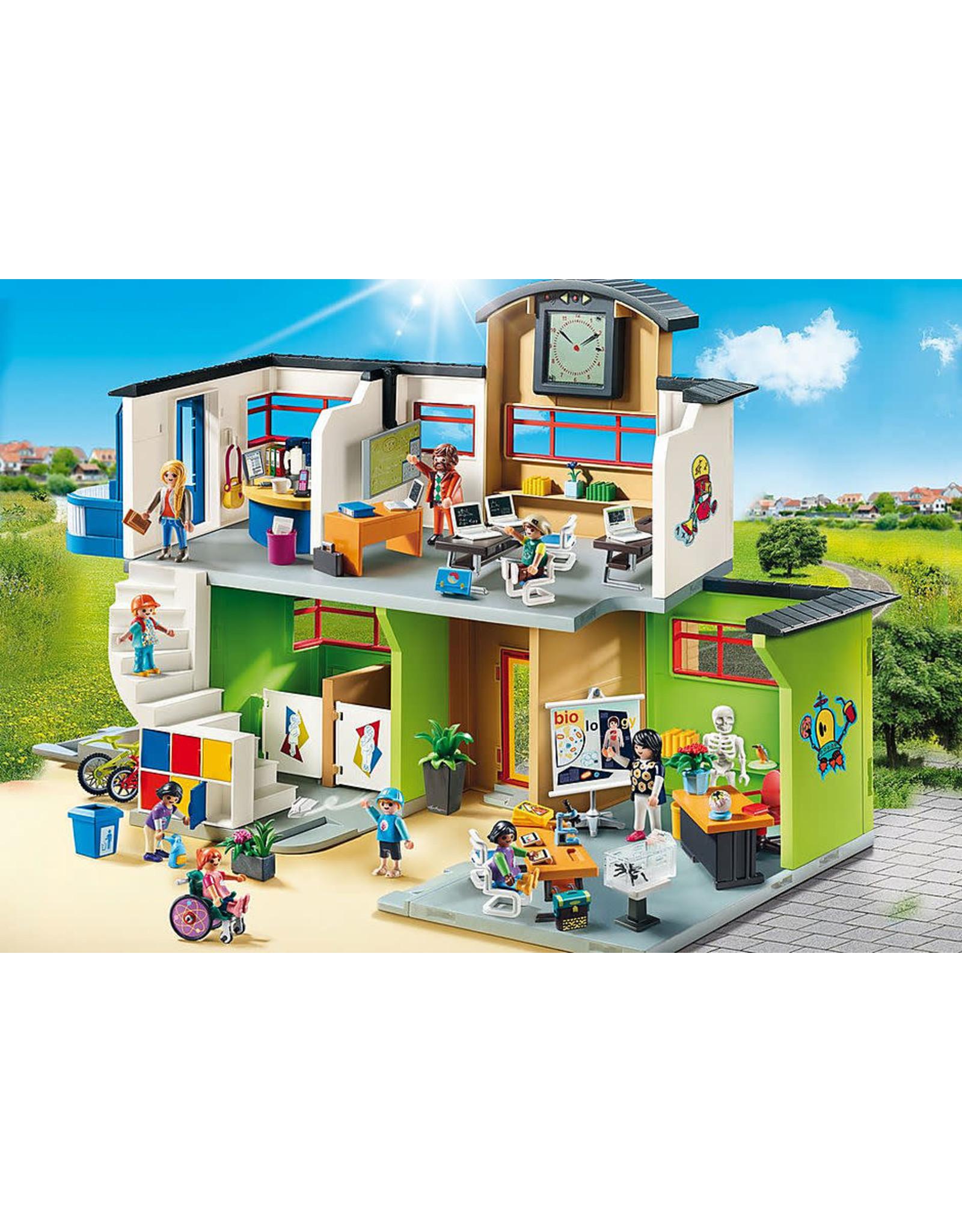 Playmobil Furnished School Building