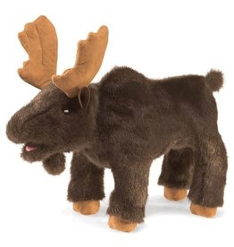 Folkmanis Small Moose Puppet