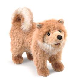 Folkmanis Pomeranian Puppy Hand Puppet