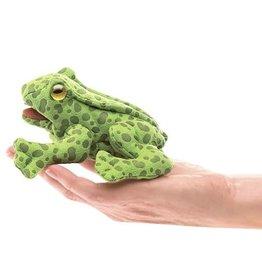 Folkmanis Mini Finger Puppet, Frog