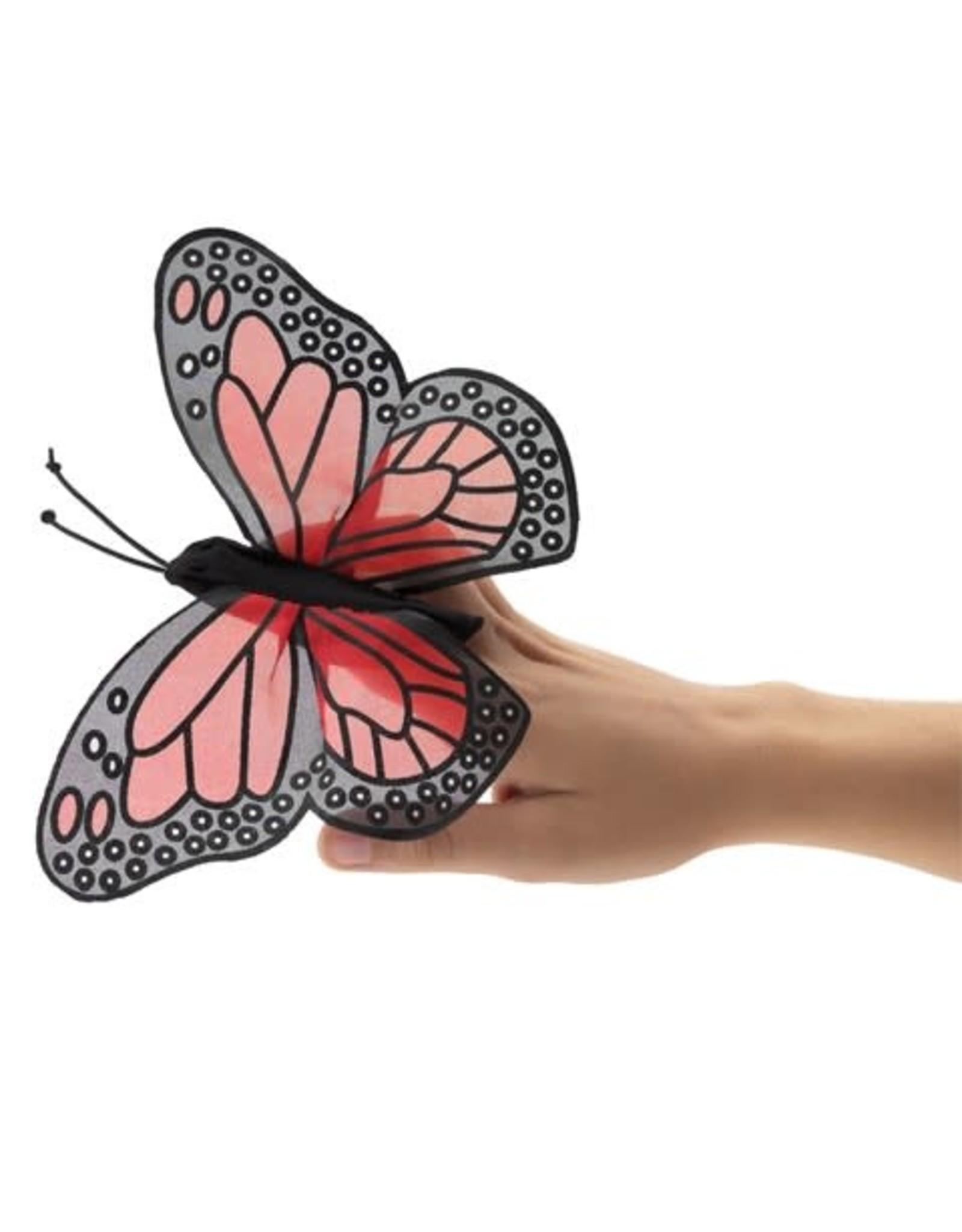 Folkmanis Mini FInger Puppet, Monarch Butterfly