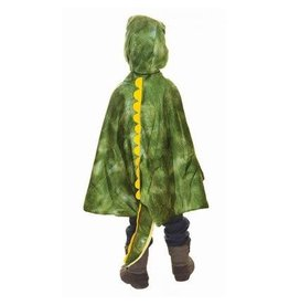 Great Pretenders T-Rex Hooded Cape Size 4-5