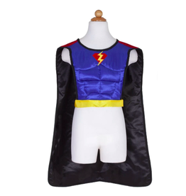 Great Pretenders Reversible Superhero Tunic with Cape & Mask