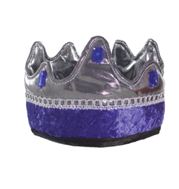 Great Pretenders King Crown Blue and Silver