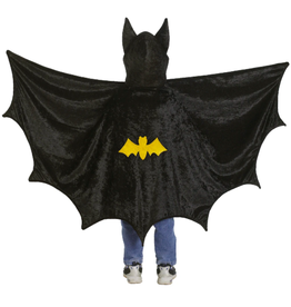 Great Pretenders Bat Cape with Hood, Medium