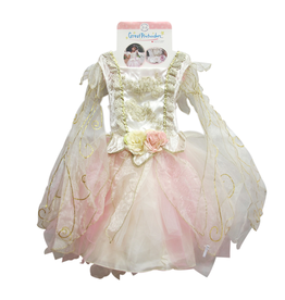 Great Pretenders Golden Rose Fairy Dress, Size 5-6