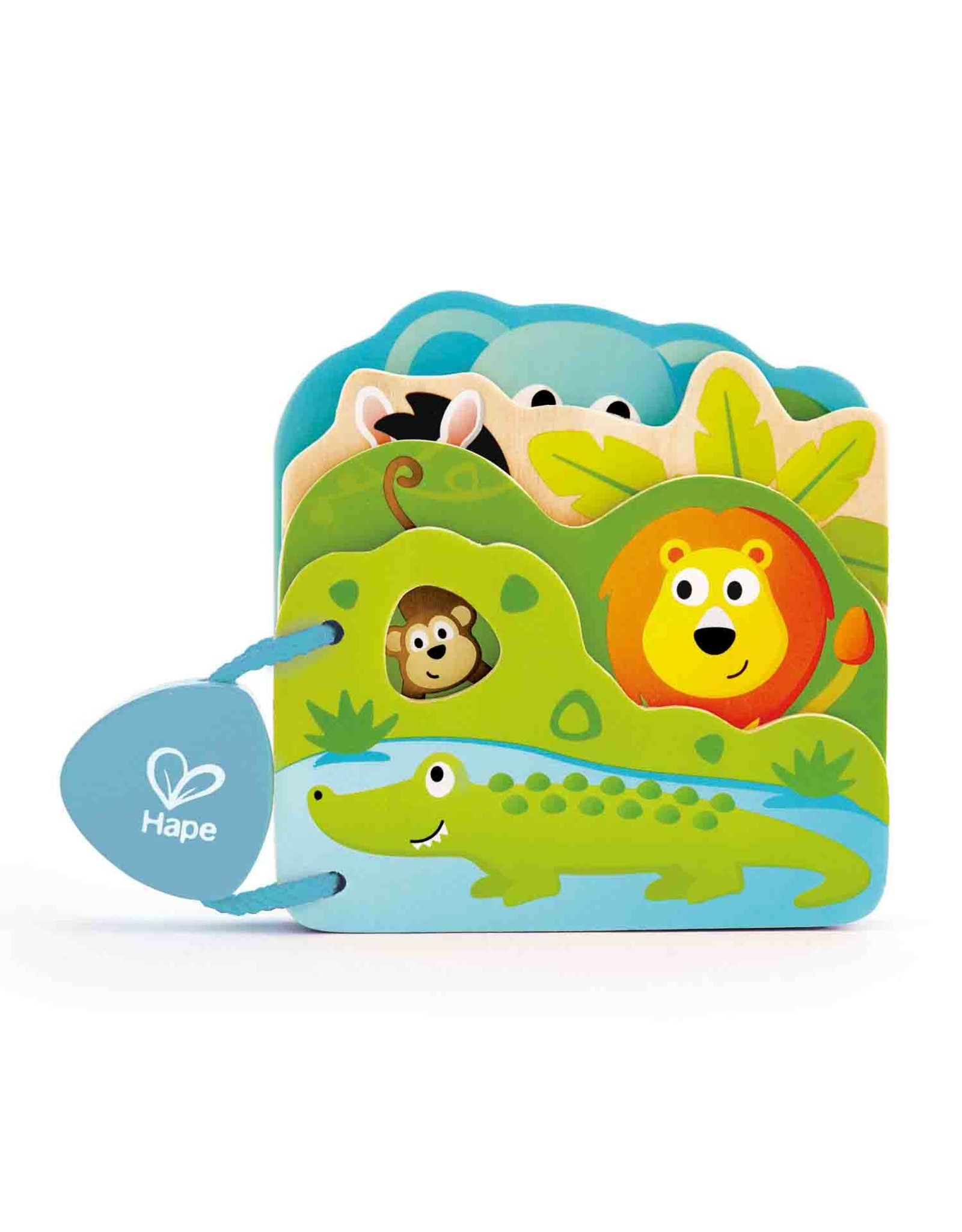 Hape Baby's Wild Animal Book