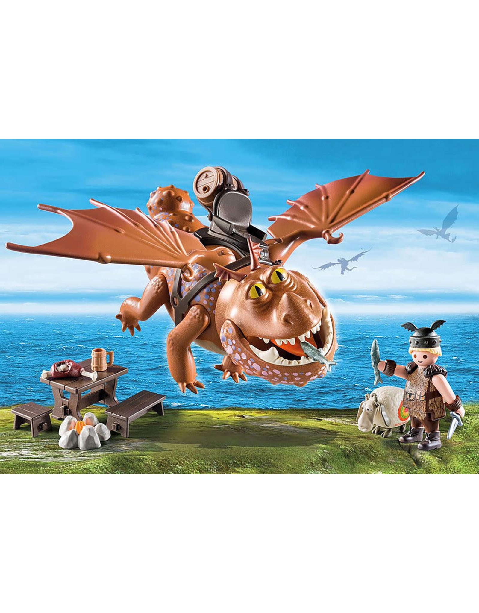 Playmobil Fishlegs and Meatlug