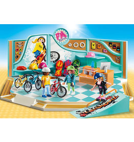 Playmobil Bike & Skate Shop