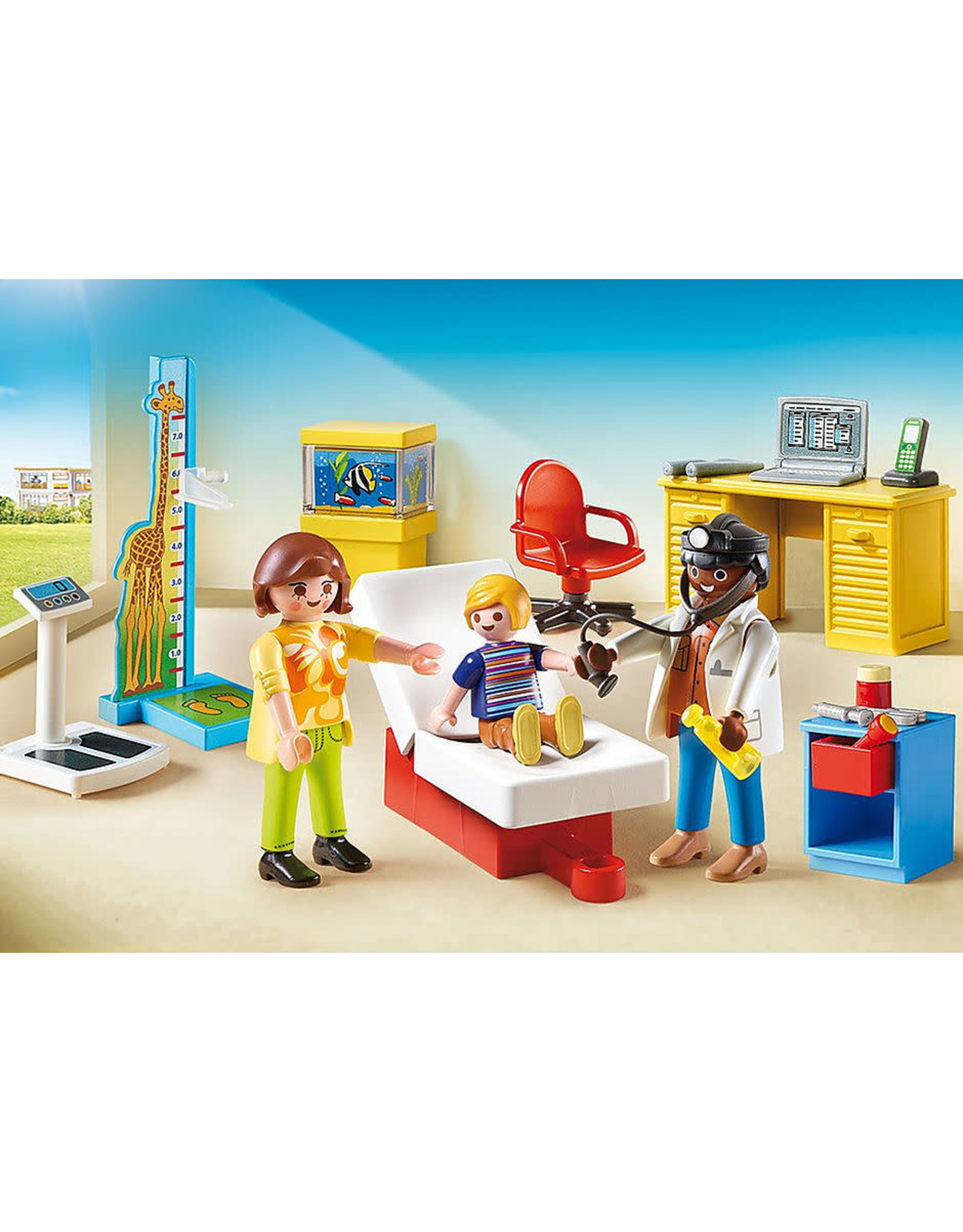 Playmobil Pediatrician's Office