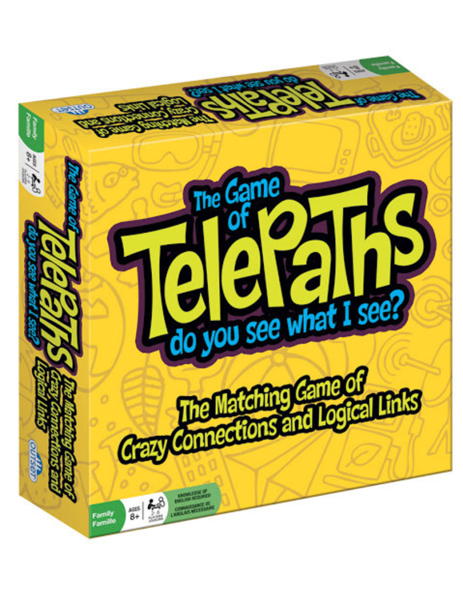Outset Media The Game of Telepaths (English)