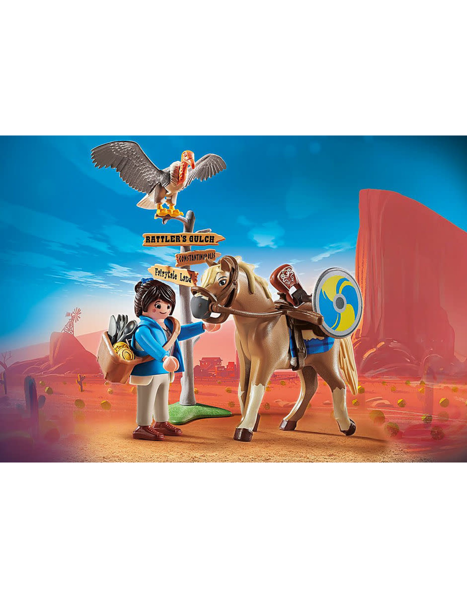 Playmobil PLAYMOBIL: THE MOVIE Marla with Horse