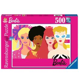 Ravensburger 60th Anniversary Barbie Puzzle, 500 pc