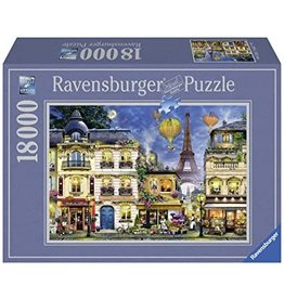 Ravensburger Evening Walk in Paris Puzzle, 18000 pc