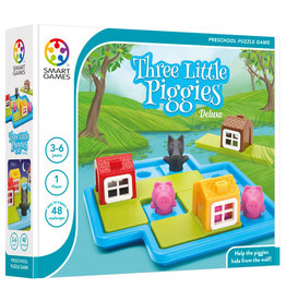 Smart Toys and Games Three Little Piggies, Deluxe