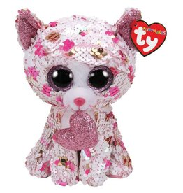 Ty Canada LLC TY Sequin Medium, Cupid Cat