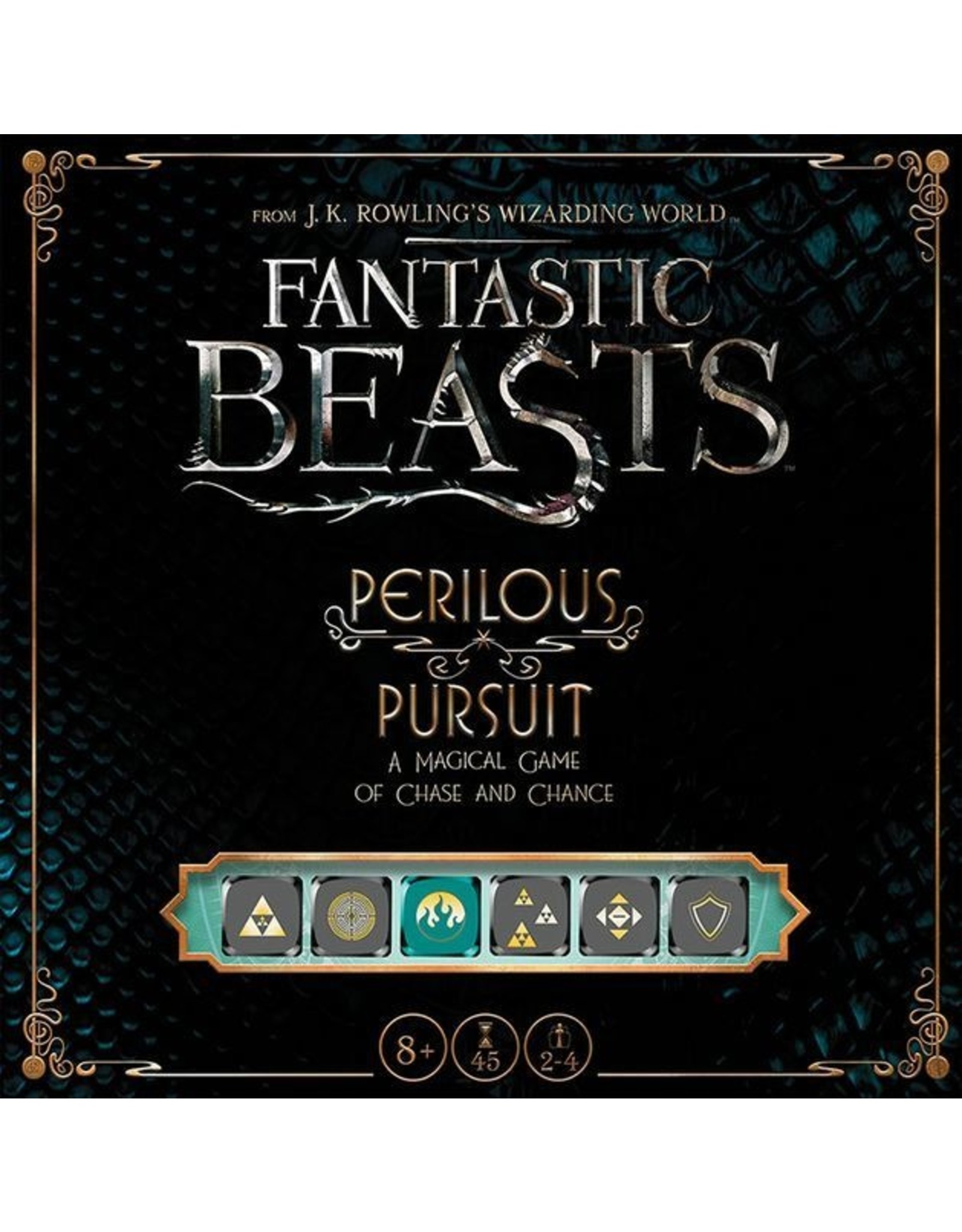 USAopoly Fantastic Beasts Perilous Pursuit