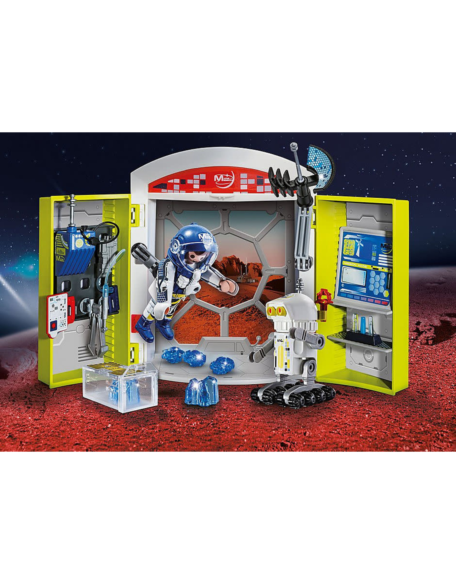 Playmobil Mars Mission Play Box
