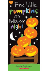 Scholastic Canada Five Little Pumpkins On Halloween Night (BRD)