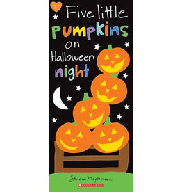 Scholastic Canada Five Little Pumpkins On Halloween Night (BRD)