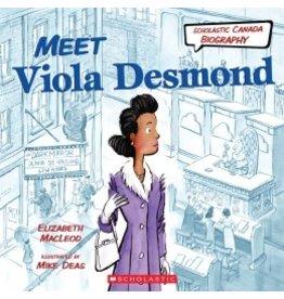 Scholastic Canada Meet Viola Desmond (HC)