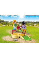Playmobil Children Minigolfing