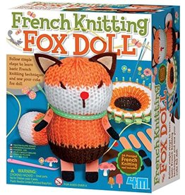 4M French Knitting Fox Doll