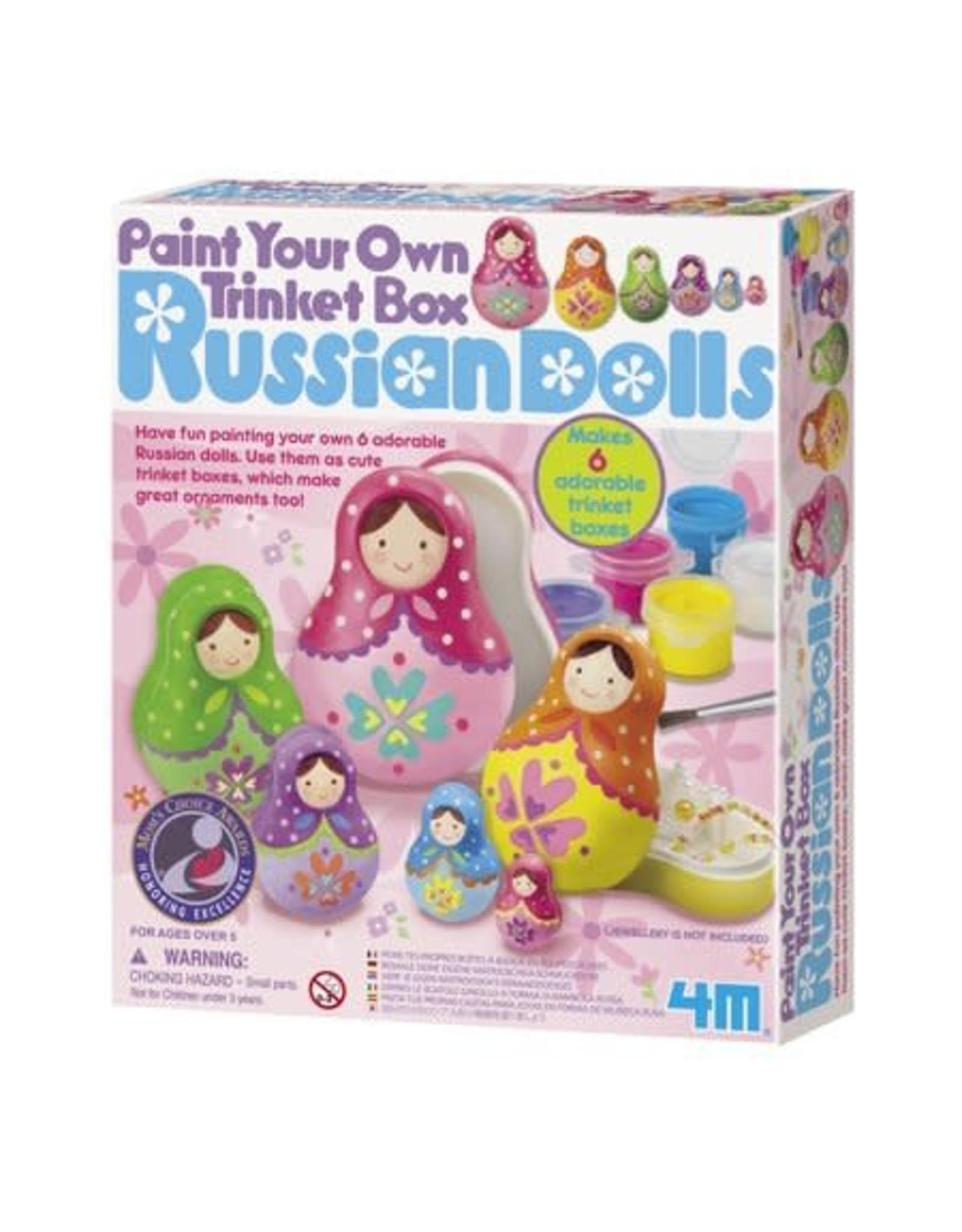 4M Russian Dolls Trinket Box