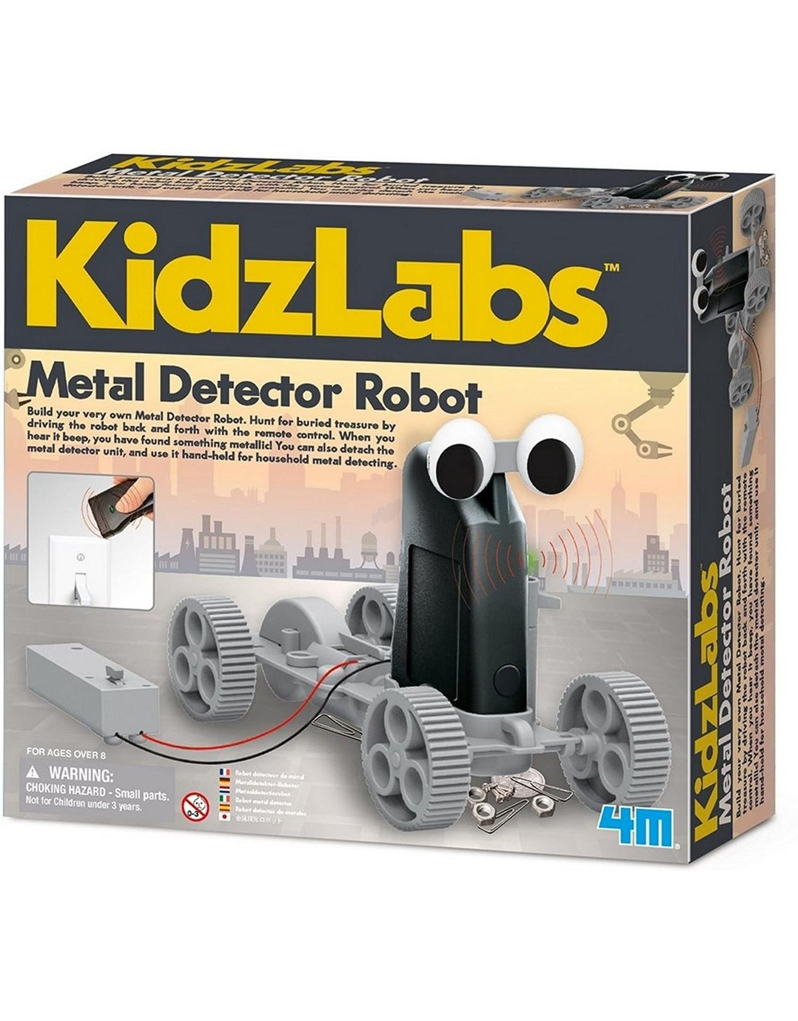 4M Metal Detector Robot