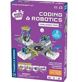 Thames & Kosmos Coding & Robotics: Challenge Pack 1