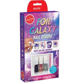 Klutz Klutz Mini Kits: Nail Studio Foil Galaxy